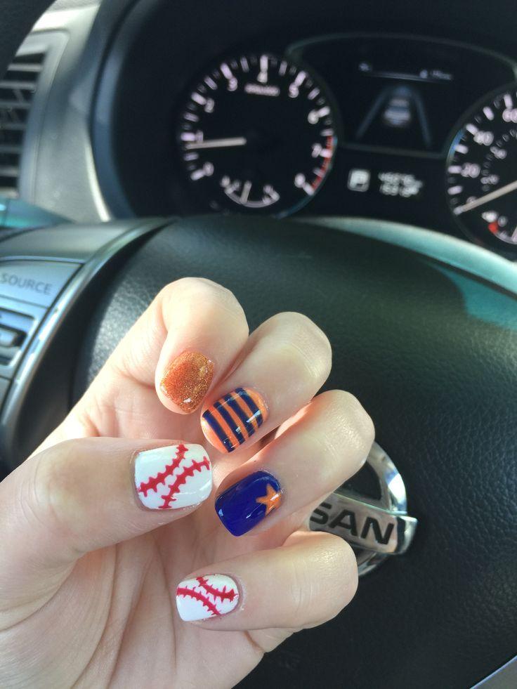 Houston Astros Nails