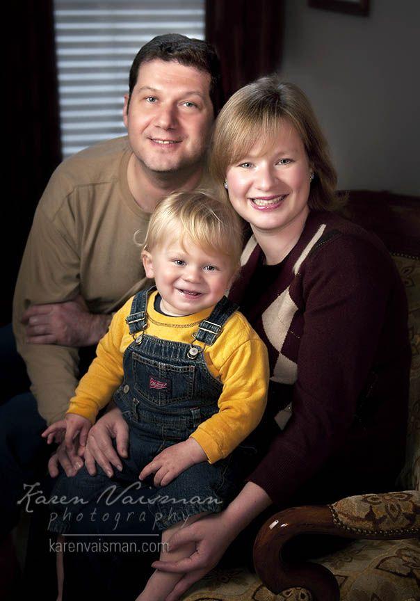 Family Cuddle Portrait!  Karen Vaisman Photography - Westlake Village