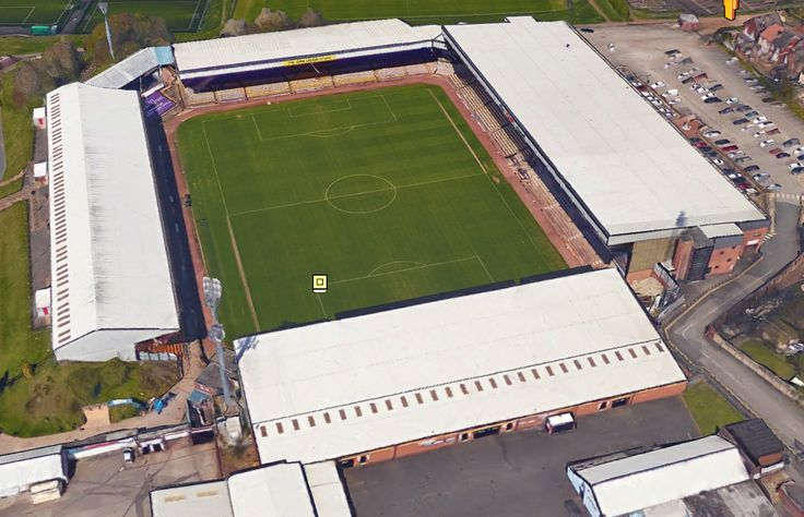 Vale Park - Home of Port Vale FC