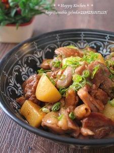 じゃがいも×鶏もも肉の人気料理・レシピランキング | Nadia 鶏肉とほくほくじゃがいものガーリック甘辛