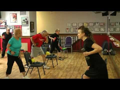 Stronger Seniors Strength - Senior Exercise Aerobic Video, Elderly Exercise, Chair Exercise - YouTube