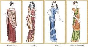 Drape your #saree #sari in different ways on different occasion.