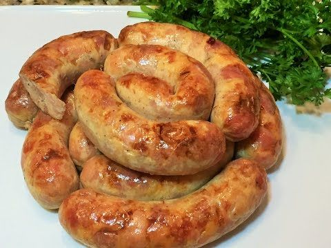 ДОМАШНЯЯ КОЛБАСА КУРИНАЯ. Самый вкусный рецепт. Chicken sausage homemade - YouTube