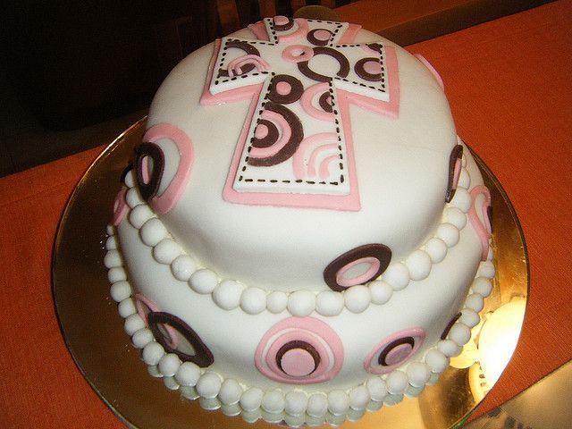 Pastel Primera Comunión by Kika's Cupcakes, via Flickr