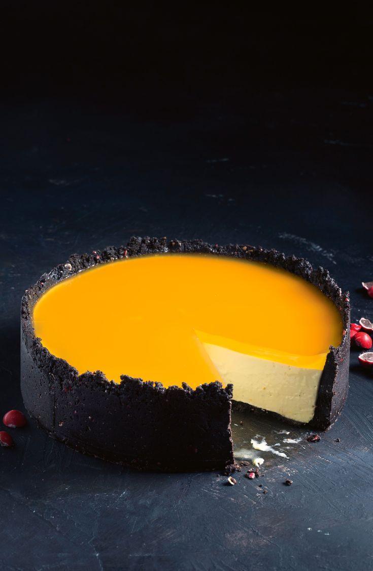 Jelly jaffa cheesecake