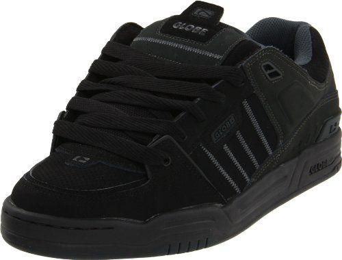 Globe Mens Fusion Skate Shoes, Black/Night, 5 D US Globe https: