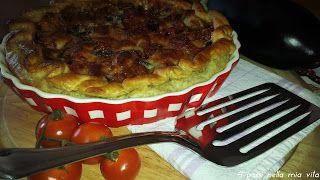 4 passi nella mia vita: Secondi piatti: Quiche di melanzane e scamorza aff...