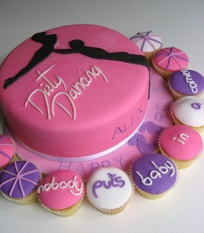 Dirty Dancing Cake @Amy Ausen my 20th birthday cake (: ??