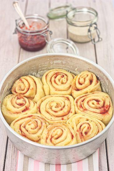 QuartoSenso Cafe: Torta di Rose, Mele e Marmellata di Fragole … lievitazione naturale con Pasta Madre