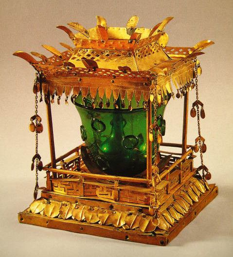 Reliquary from the 5-Story pagoda of Songnim-sa Temple, near Daegu - Unified Silla Period 칠곡 송림사 사리기(漆谷 松林寺 舍利器)