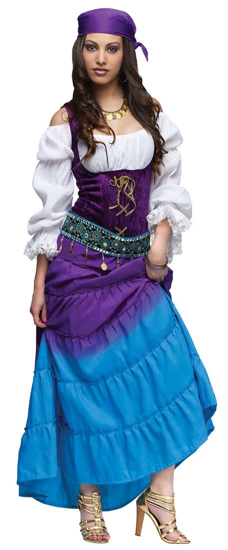 Womens Gypsy Costume - Adult Costumes