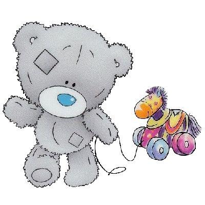 Tiny Tatty Teddy Clip Art - Tatty Teddy Bear Clip Art