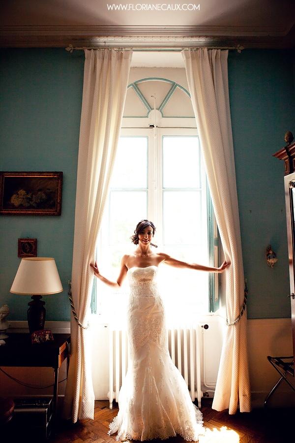 Bridal. jolie mariée. Floriane Caux Photographe de Mariage - De jolis Mariages - Toulouse, Ariège.: {Mariage Toulouse - Les Jardins de Ronsac} Sabrina & Nicolas #wedding #bride #mariage #mariée #light