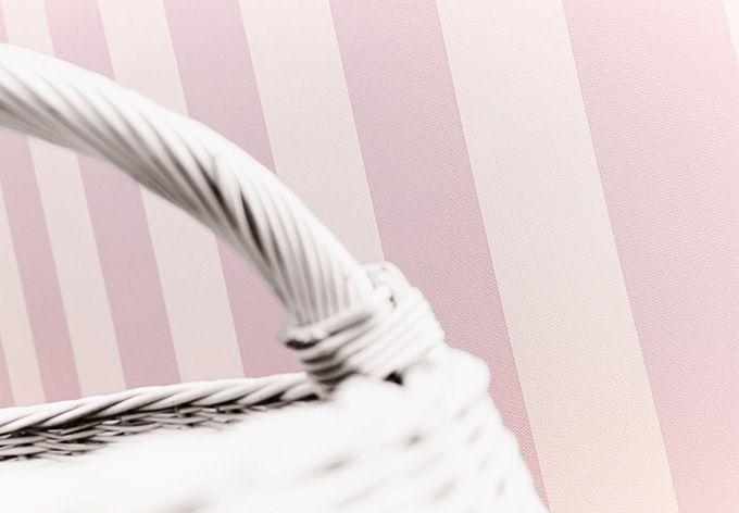 A.S. Création - carta da paratiFleuri Pastel color crema, rosa