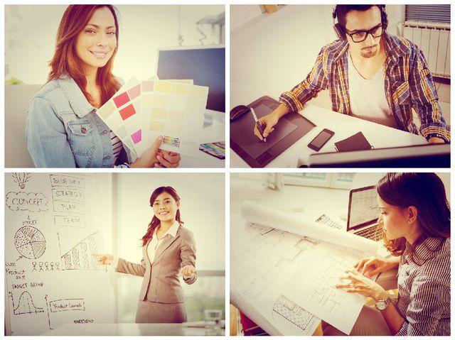 I got: Interior Designer/Graphic designer/Architect/Advertising | The Ultimate Career Aptitude Test