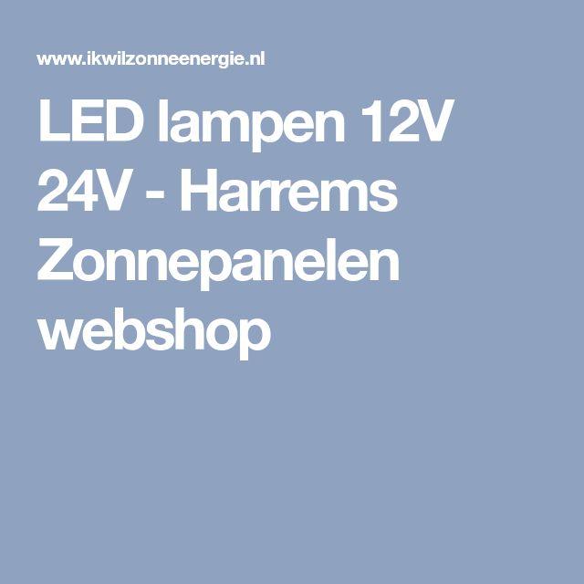 LED lampen 12V 24V - Harrems Zonnepanelen webshop