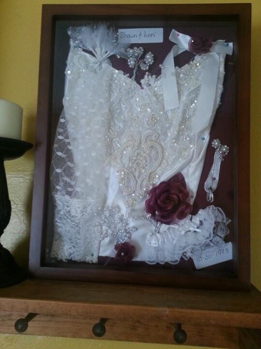 Wedding Gown Keepsake Ideas Craft Ideas Pinterest