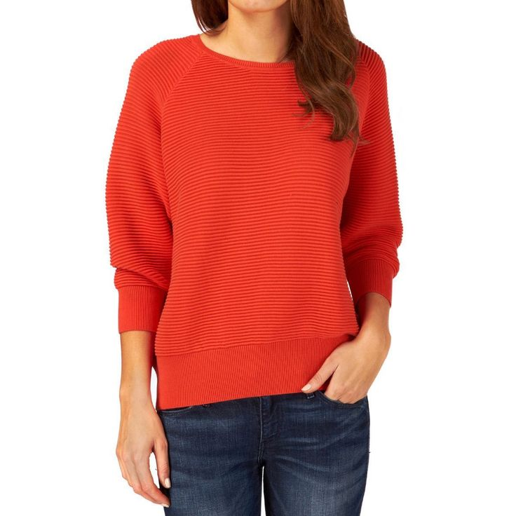 Havana red ribbed jumper. For an approximation of fit double key number like 'waist' or 'armpit to armpit'. All photographs are of the actual item for sale. I'm doing my best to show exactly how the item looks like but some difference in the real colour may occur due to screen settings. | eBay!