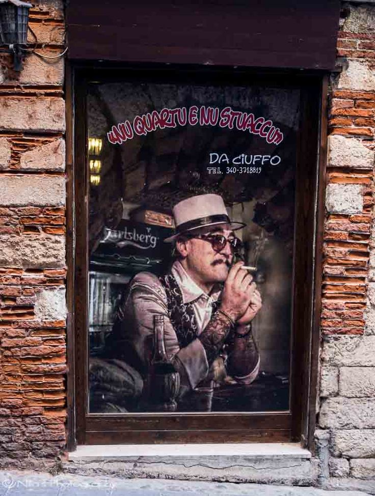 Old Town, Cosenza, Calabria, Italy, Cuban club