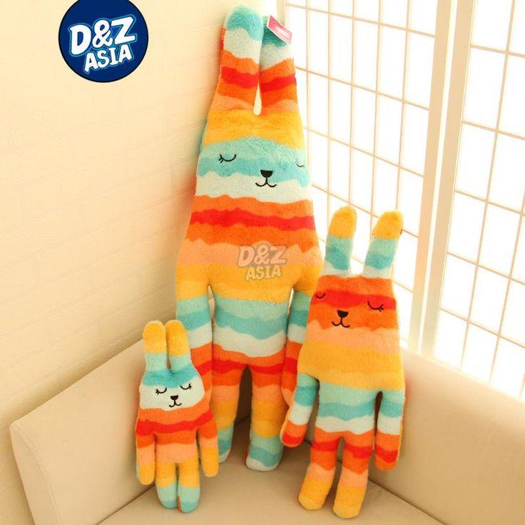 Plush craft plush jointed bunny Orange wave Striped rabbit bugs bunny Birthday valentine's day gift wedding plush //Price: $US $9.99 & FREE Shipping //     #toyz24