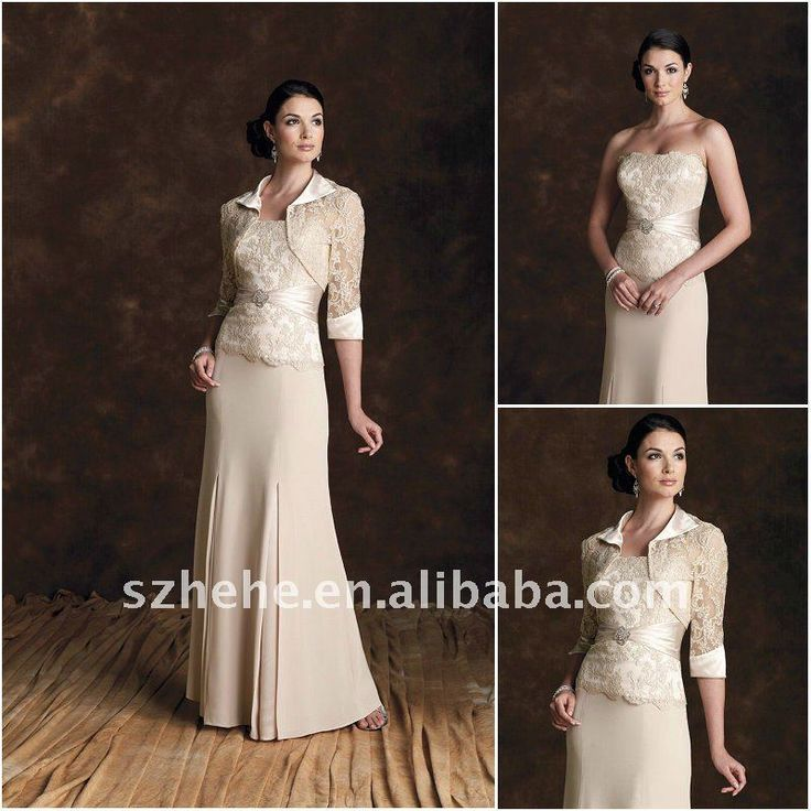 2011 Fall New Model Mother Of The Groom Dress With Long