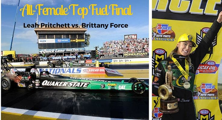 First win in Top Fuel for Leah Pritchett