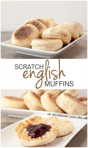 English Muffins from scratch...they are easier than you think!