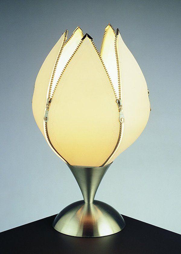 lamparas con forma de flor - Buscar con Google