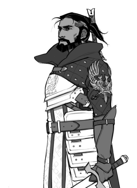 Duncan - Dragon Age: Origins. He deserved a better fate ;;                                                                                                                                                                                 More