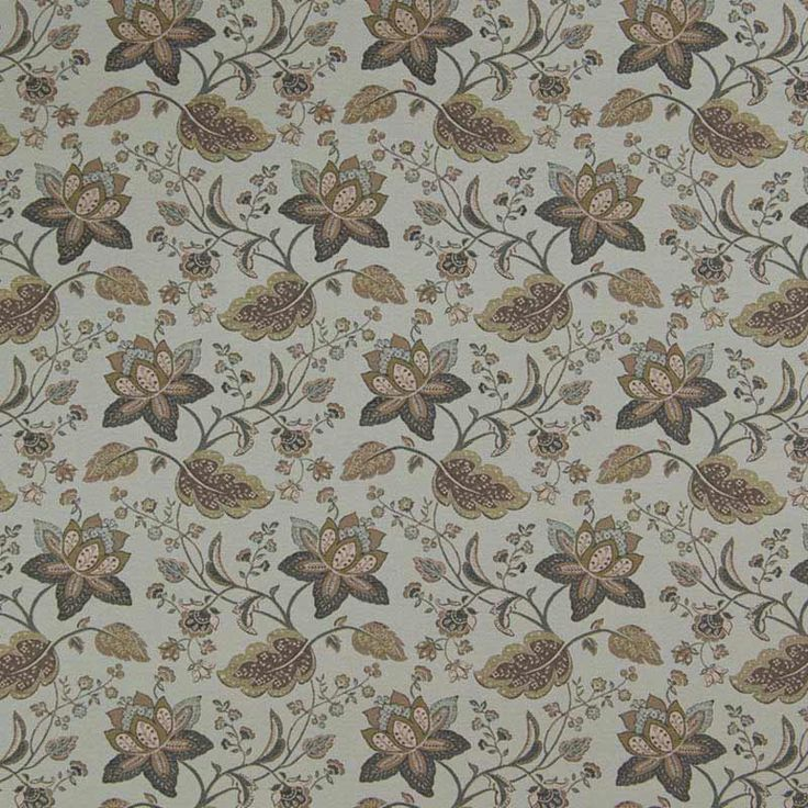 Warwick Fabrics : EVELYN, Colour DUCK EGG
