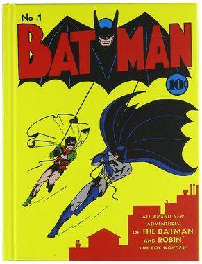 Batman Comic #1 Cover Art Hard Cover Journal Notebook