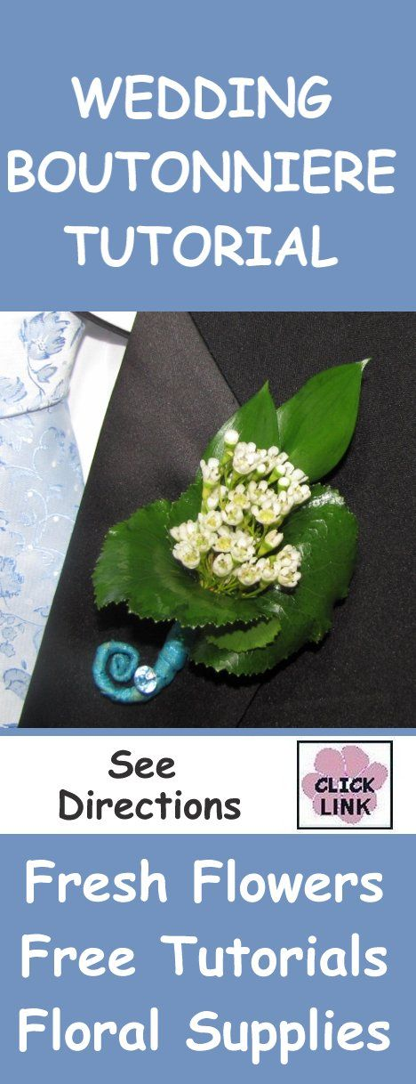 Learn how to make a wedding bouquet