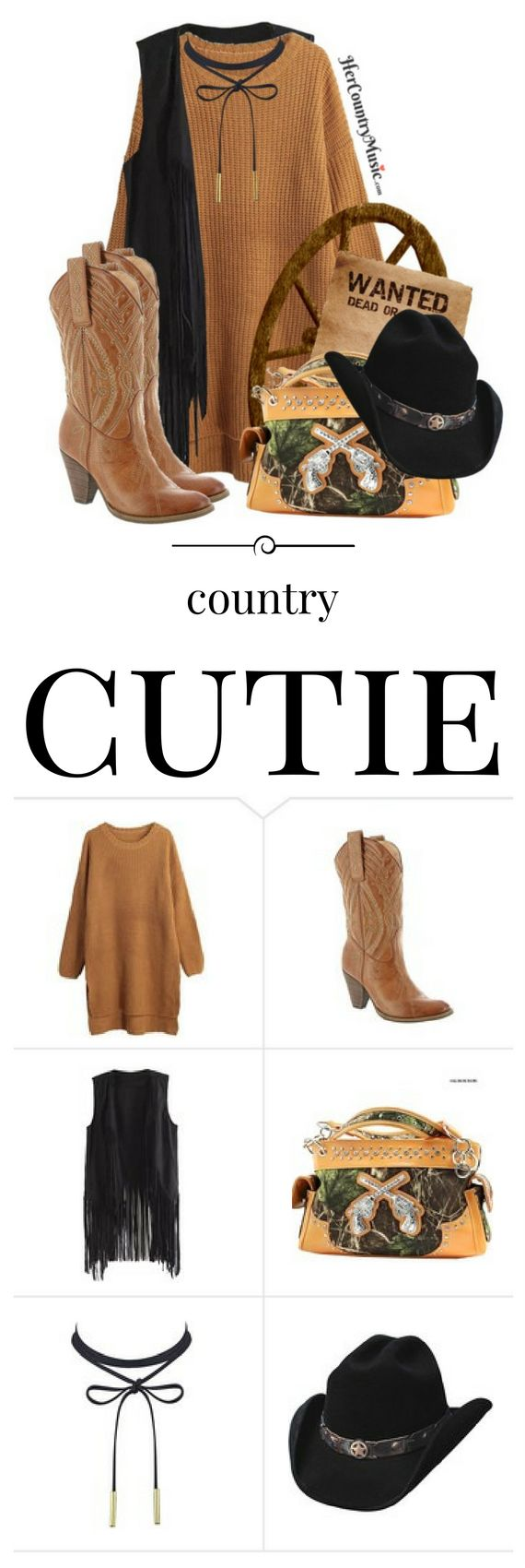 A fun Country Outfit Country Cutie for your next country music concert
