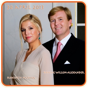 Souvenirs,  commemorative paraphernalia and hilarious gifts for the inauguration of Willem Alexander as King of the Netherlands