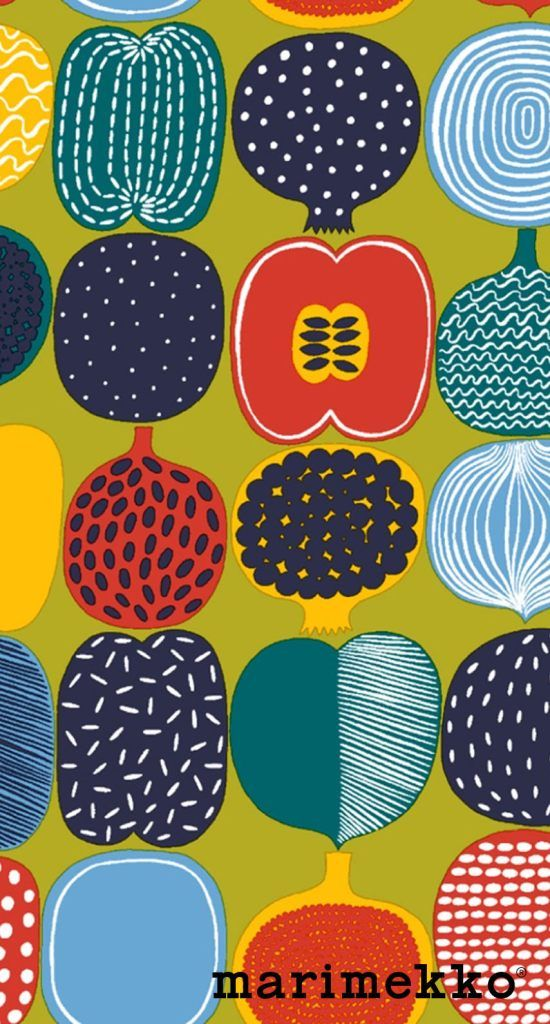 Marimekko iPhone Wallpaper