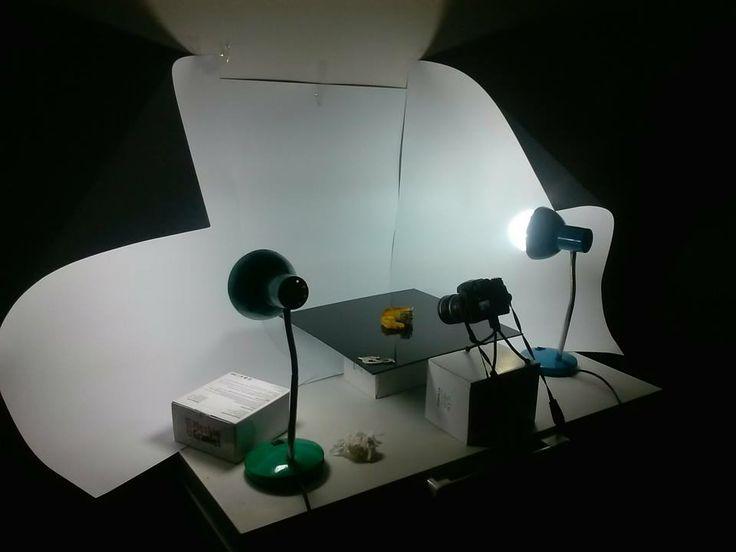 Domowej roboty studio fotograficzne| Homemade photographic studio - jewellery apprentice blog