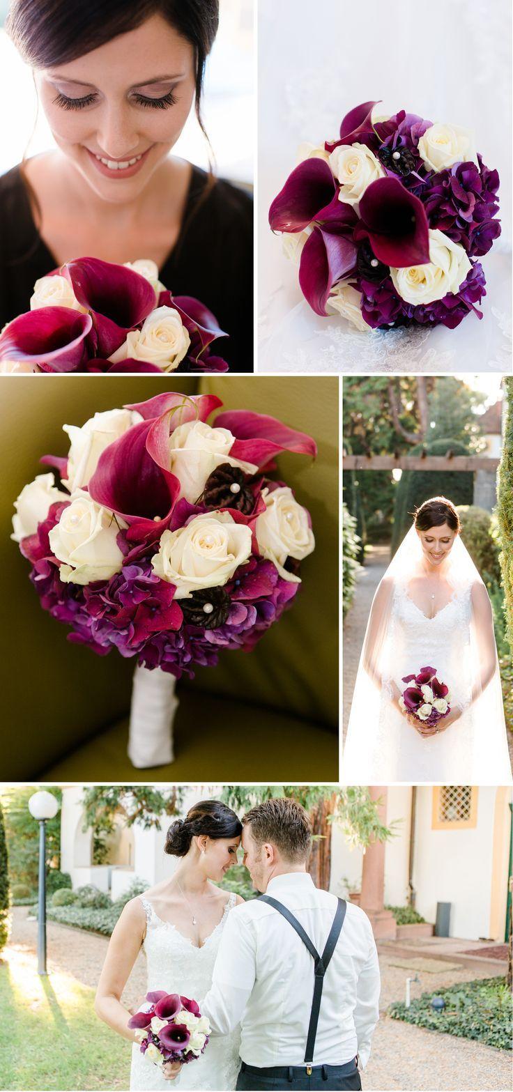 Hochzeit in Berry Tones – eine Hochzeitsfarbe, die verzaubert – Brautsträuße …   – Hochzeit
