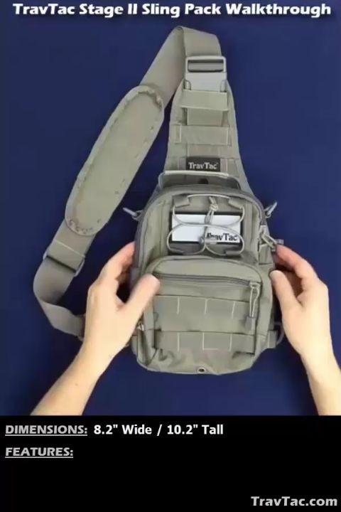 TravTac Stage II Sling Pack Walkthrough Video