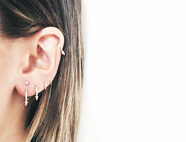 Pin On Celebrity Ear Piercings