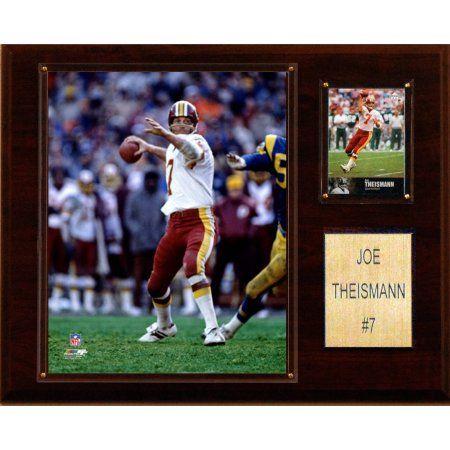 C Collectables NFL 12x15 Joe Theisman Washington Redskins Player Plaque