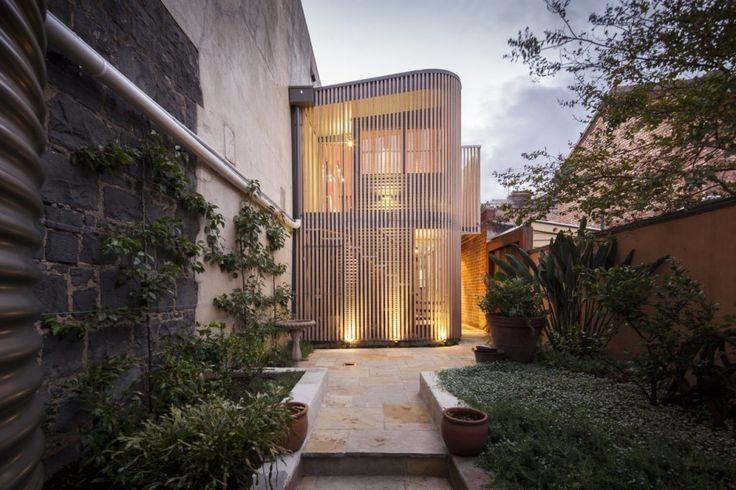 Tim Spicer Architects have designed the Little Gore Street Studio in Fitzroy, Victoria, Australia.
