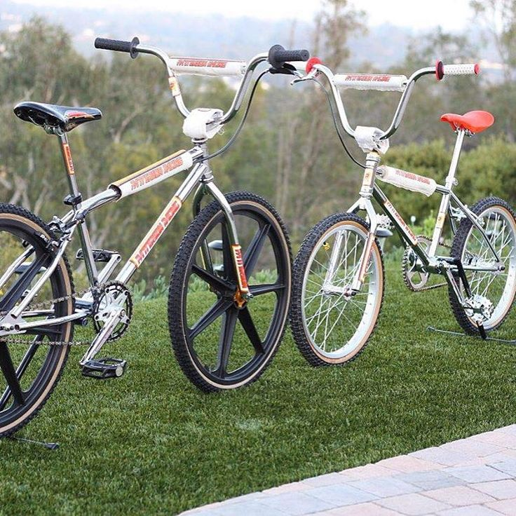Head to head...another angle with Tuffs on the PR240. #bmx #cruiser #24 #24inch…