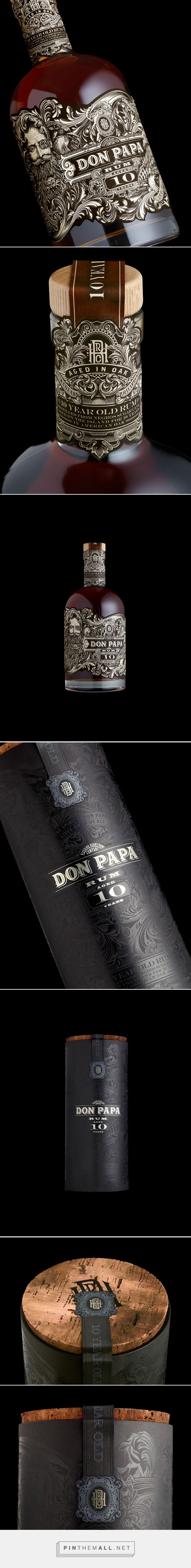 Don Papa 10 Year Old on Packaging of the World - Creative Package Design Gallery... - a grouped images picture - Pin Them All