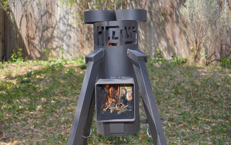 1000 images about camp emergency cooking on pinterest a for Heavy duty rocket stove