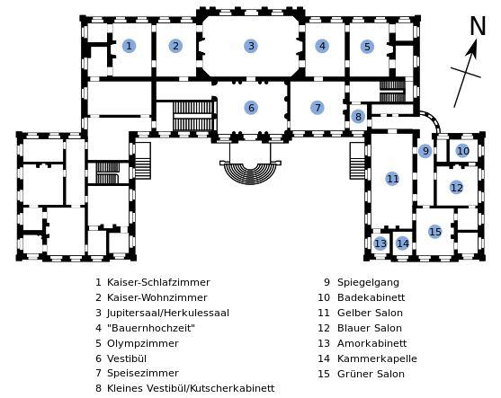 Grundriss Schloss Nordkirchen - Schloss Nordkirchen – Wikipedia
