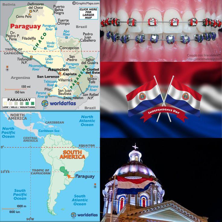 Feliz dia de la independencia del Paraguay   #Paraguay #independencia #paraguay🇵🇾 #asuncion #paraguayan #espanol #concepcion #concepción #sanpedro #encarnacion #Frenos #colores #odontología #ortodoncia #ortodoncista #dentista #dentistry #orthodontist #orthodontics #southamerica #southamerican #latinamerican #latinoamerica #latinoamericano #sudamericano  #sudamerica