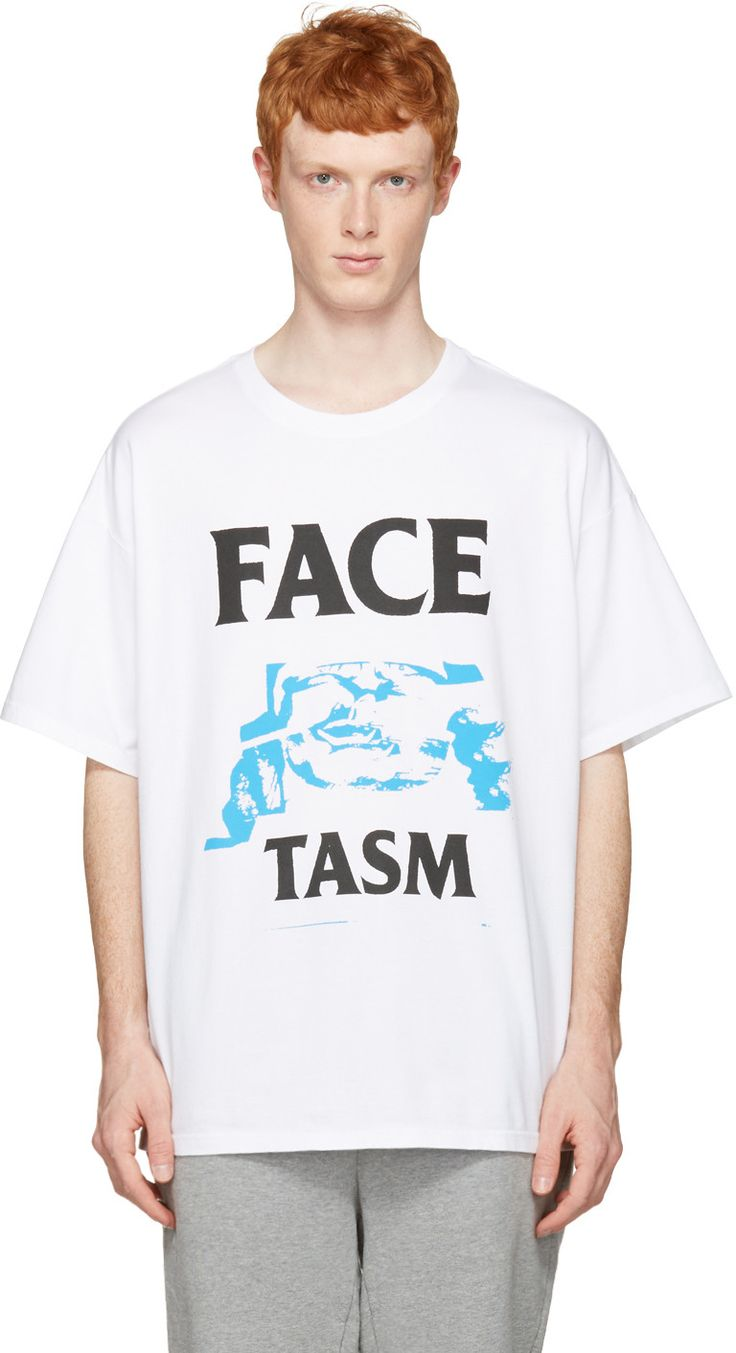 Facetasm - White Logo T-Shirt