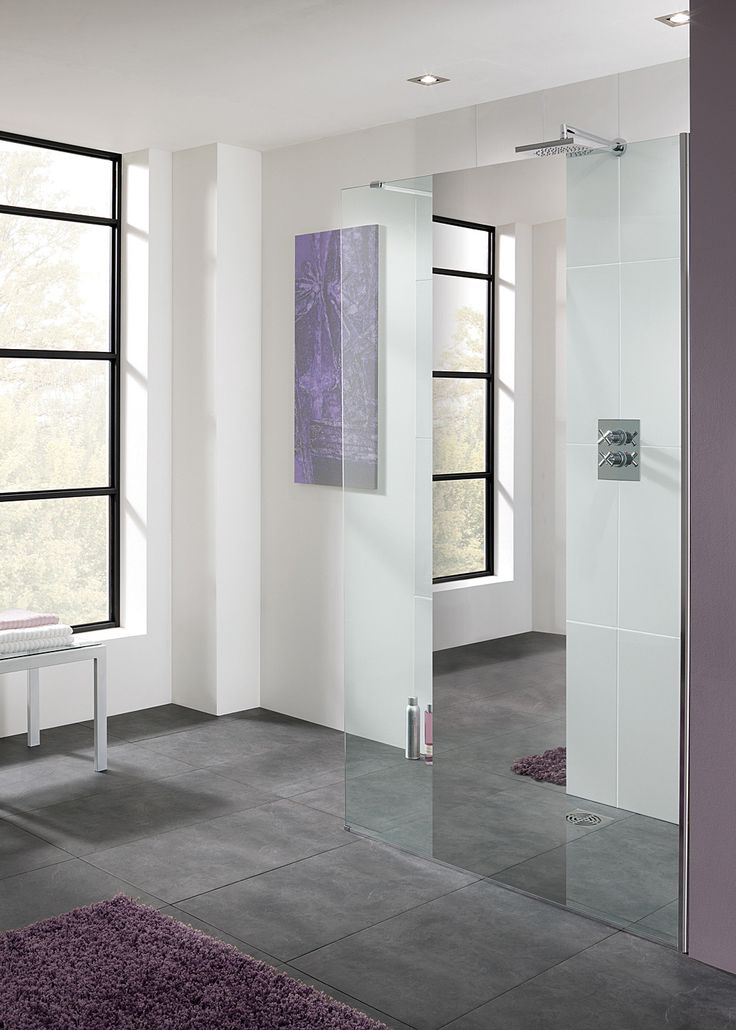 Lakes Cannes Mirror Walk-In Shower Panel 1100mm