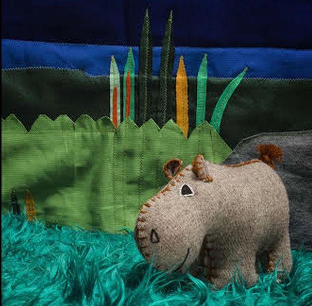 Deko Objekte Robustina Lopez Das Altkluge Flusspferd Ein