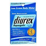 Diurex Aquagels, Soft Gel Capsules 24 ea - The Gentle Diuretic Lose Excess Body Water Helps Relieve: Bloat & Puffiness Water Weight Gain Related Discomforts Immediate Release | Caffeine Free Helps promptly eliminate water bloat and related menstrual discomforts Doctor Recommended Indications For relief of temporary water weight... - http://weightlosshype.com/diurex-aquagels-soft-gel-capsules-24-ea/